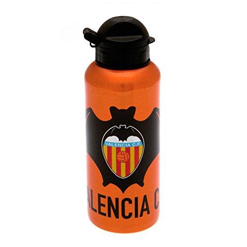Valencia C.F. Aluminium Drinks Bottle Official Merchandise Muy resistente Alta calidad Paqueteage Dimensiones: 6.6 L x 19.0 H x 6.6 W (centimeters)