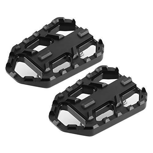 ⭐️ 【Aplicabilidad】 Los accesorios prácticos pueden garantizar un estacionamiento más seguro. Los pedales de motocicleta se producen de acuerdo con los estándares originales de fábrica, lo que es muy adecuado para el tamaño del modelo instalado, y es especialmente adecuado para las motocicletas DL650 DL1000 / V-STROM650 / XT / V-STROM1000 / XT. Se puede comprar y utilizar con confianza. ⭐️ 【Instalación simple】 La instalación y el desmontaje son muy simples, no se necesitan herramientas complicadas, ahorran tiempo y mano de obra, y su uso es confiable. Reemplace los reposapiés viejos o dañados, diseño ancho, mejore la comodidad de conducción.Tamaño: Aprox. 85 x 60 x 15 mm / 3,34 x 2,36 x 0,59 pulg. ⭐️ 【Función】 El reposapiés ancho para motocicleta tiene una apariencia elegante y una tecnología excelente, que es más adecuada para su vehículo. Proporciona un agarre uniforme y estable para sus zapatos durante la conducción. ⭐️【Simple installation】Installation and disassembly are very simple, no complicated tools are needed, time-saving and labor-saving, and reliable in use. Replace the old or damaged foot pegs, wide design, improve riding comfort.Size: Approx. 85 x 60 x 15mm/3.34 x 2.36 x 0.59in . ⭐️ 【Garantía de calidad】 Sabemos que desea productos de alta calidad, por eso ofrecemos una garantía de satisfacción del 100%. Si por alguna razón nuestros productos no cumplen con sus expectativas, comuníquese con nosotros a tiempo.
