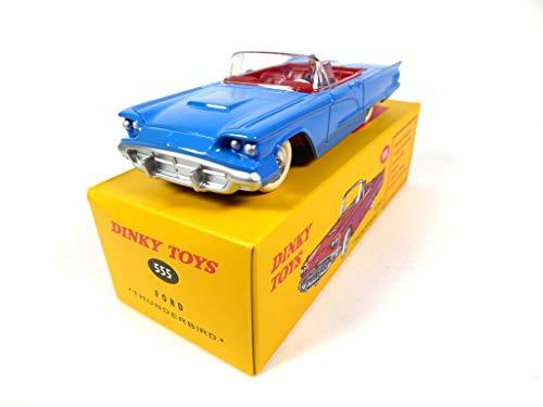 OPO 10 - Dinky Toys Atlas - Ford Thunderbird Blue 555 1:43 (MB427)