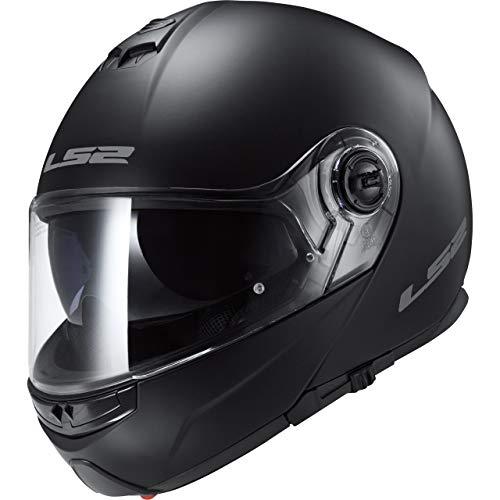 LS2 503251011S FF325 Casco Strobe Solid, Color Negro Mate, Tamaño S