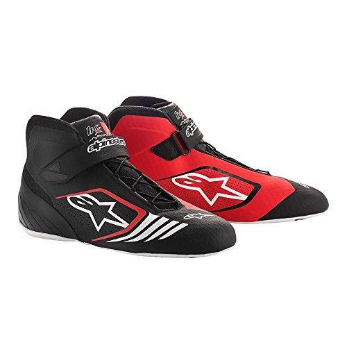 Alpinestars 2712118-12B-11 Tech 1-KX Shoes, Black/White, Size 11