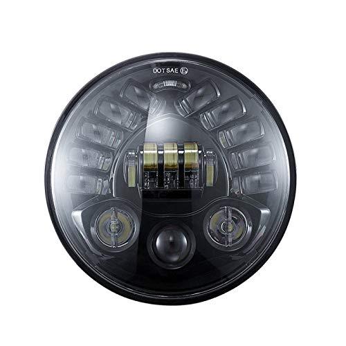 [Embalaje]: 1 x faros [Función]: Waterproo, rendimiento duradero y confiable, visibilidad afilada y guía a su manera a salvo. Fácil de instalar. [Aplicable]: / FIT FOR HARLEY / FIT PARA BMW R NINET R9T [Especificación]: Lente: PC; Dimensiones: 7 pulgadas; Potencia LED: 70W / 50W [Nota] :( Compatibilidad es solo para referencia. ¡Compare con el modelo original antes de comprar! Para obtener más información de compatibilidad, consulte la descripción del producto)