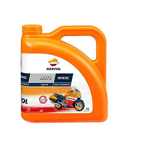 REPSOL Moto Racing Hmeoc 4T 10W-30 Aceite De Motor Para Moto, 4l