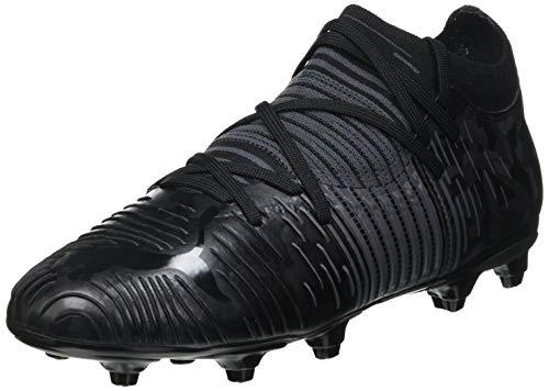 Puma Future Z 3.1 FG/AG JR, Zapatillas de fútbol, Black/Asphalt, 36 EU