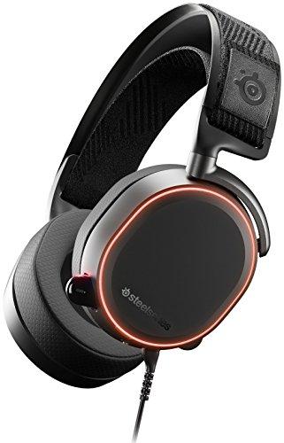 Los excepcionales altavoces de alta resolución con imanes de neodimio de alta densidad reproducen un amplio rango de frecuencias expansivo que va desde los 10 a los 40000 Hz con un realismo y una claridad asombrosos. Una lujosa fabricación con aleación de acero pulido y aluminio ofrece la máxima durabilidad y un ajuste constante. El sonido envolvente de nueva generación de DTS Headphone:X v2.0 ofrece una imagen espacial óptima para una inmersión de 360 grados completa. El dial ChatMix USB te permite equilibrar y ajustar el volumen entre tu juego y el sonido del chat. El micrófono Arctis ClearCast proporciona una claridad de voz con calidad de estudio y reducción del ruido de fondo.