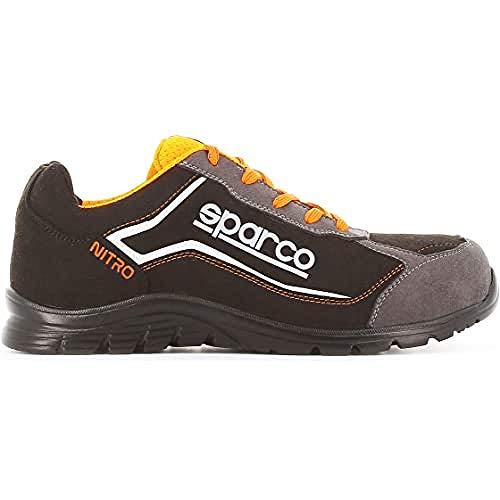 Sparco - Zapatillas Nitro S3 Black/Gris talla 41 eu