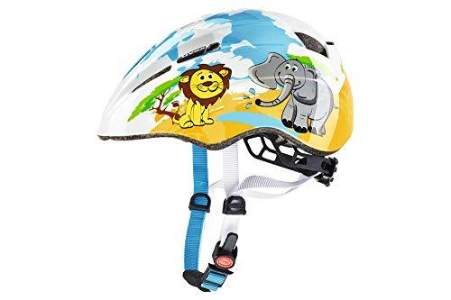 Uvex Kid 2-Desierto Casco de Ciclismo, Unisex bebe, Multicolor, 46-52 cm