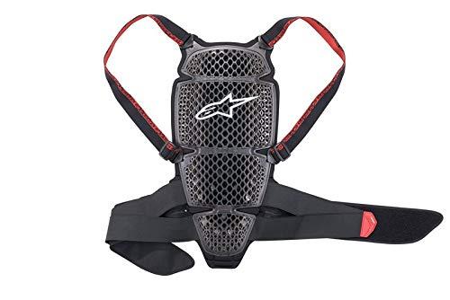 El protector de espalda es según la norma EN 1621-2:2014 nivel 1 Compatible con: Protector Nucleon KR-C, protector Nucleon KR-TB Cinturón lumbar con un sistema de doble cierre de velcro que mantiene la prenda ajustada