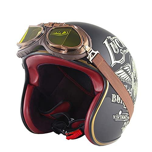 APROBADO POR ECER 22-05: El casco cumple con los estándares de seguridad europeos y es legal en las carreteras del Reino Unido y Europa.Necesita un casco para actividades al aire libre como bicicletas de calle, autos de carreras, cruceros, scooters, etc. TAMAÑO Y PESO: El producto pesa 1020 gramos (+ -50g) y está disponible en tallas S (55 ~ 56cm), M (57 ~ 58cm), L (59 ~ 60cm), XL (61 ~ 62cm), XXL (63 ~ 64cm) disponible. Para encontrar el tamaño correcto, mida la circunferencia de su cabeza en el punto más ancho por encima de las orejas. MATERIAL: El producto adopta un diseño de revestimiento de alta densidad ABS + EPS de alta densidad importado, mejora la absorción de impactos, puede absorber en gran medida la fuerza de impacto, tiene un excelente efecto de amortiguación y es extremadamente liviano en uso. PRINCIPIO DE DISEÑO: entrada totalmente ajustable, flujo de aire ligero que ayuda a mantener al ciclista fresco y cómodo, hebilla de liberación rápida, correa de barbilla reforzada, forro completamente extraíble y lavable para mantener el casco limpio, fresco y sin olores. ALA EXTRAÍBLE: diseño de tres botones, personalidad elegante, fácil de desmontar, buena tenacidad, ¡no es fácil de romper! También puede cambiar la altura de la vejiga o usar sus lentes favoritos.
