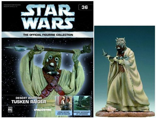 Tusken Raider Official Figurine Collection #36 by DeAgostini