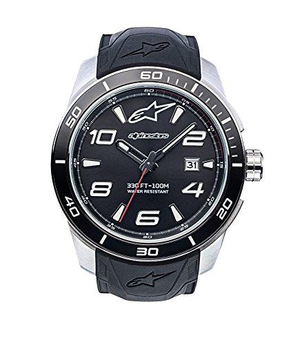 Alpinestars Reloj Analogo clasico para Hombres de Cuarzo con Correa en Silicona 1036-96007