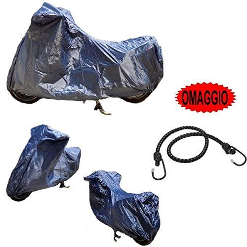 para Piaggio MP3 Yourban 300 Sport ie LT 2011-2019 Funda para Moto para Parabrisas y baúl de Nailon Impermeable Talla 295 x 105 x 127 cm Universal