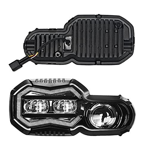 1) Diseño único, mucho más especial, de moda. 2) Lente LED de ODM Lente, la viga alta alta es más ancha y la luz se extiende uniformemente dentro de la línea de corte, el rango de iluminación más amplio, 3 veces más brillante que el faro de HID original 3) E24-R113 aprobado 4) Con respiración patentada, mejor impermeable. 5) EMC incorporado, sin problemas de CANBUS