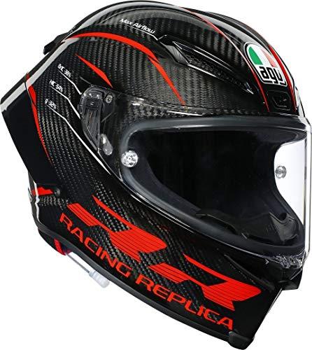 AGV Pista GP-RR Performance Integral Carrera Casco De Moto Talla ML