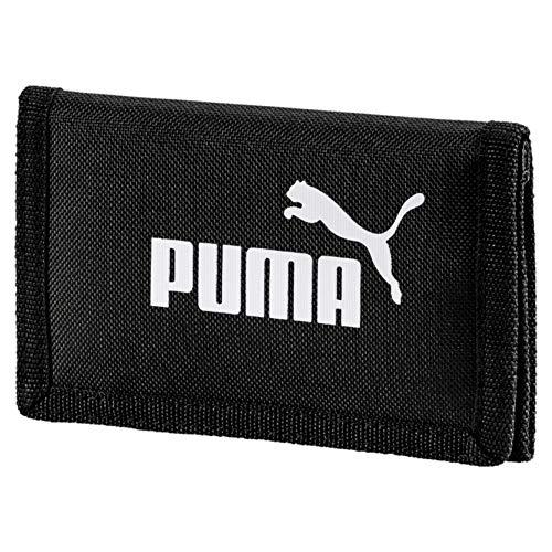 Puma Phase Wallet Cartera, Puma Black, OSFA