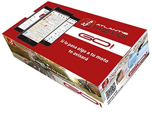 🏍️TAMAÑO REDUCIDO - El dispositivo Atlantis MOTO GO! es de diseño compacto con protección IP67 (resistente al polvo y a salpicaduras de agua). Su tamaño reducido facilita la ocultación en cualquier tipo de moto, pasando inadvertido frente a un posible robo. Su bajo consumo de batería es compatible para uso en motos de cualquier cilindrada con uso habitual. Dispositivo exclusivo para motos y fácilmente ocultable 🌐LOCALIZACIÓN EN TIEMPO REAL - Muestra la ubicación de tu moto en tiempo real desde la palma de tu mano en cualquier lugar del mundo gracias a su receptor GPS/ GSM/Datos de alta sensibilidad y la SIM multi-operador (incluida) que se conecta a la red de cualquier operador disponible, ofreciéndote la máxima cobertura. Incluye 3 meses de conexión (después 39€/año). Despreocúpate, tu moto está localizada. 📱ALARMAS EN TU TELÉFONO MÓVIL - Alarma de movimiento/vibración (sensibilidad totalmente ajustable según tus necesidades), alarma de salida de zona de seguridad (generada automáticamente al aparcar, distancia ajustable) y alarma de manipulación o desconexión de la batería de tu moto (con la batería interna de seguridad, el sistema seguirá funcionando e indicando su posición). Con cualquier alarma siempre recibirás automáticamente un aviso a tu teléfono móvil con la posición de tu moto. 🗺 SOCIAL - Atlantis MOTO GO! es mucho más que una alarma con localización GPS. ¿Qué más podrás hacer? Descubrir y crear rutas dentro de nuestra comunidad motera, compartir tus rutas y tu posición, visualizar las posiciones de las otras motos de tu grupo en tiempo real y grabar tus rutas Tú solo disfruta de tu moto y comparte tu vida en moto ✔️INSTALACIÓN SEGURA –Nuestro dispositivo requiere realizar sólo tres conexiones, no es una instalación compleja pero necesita que esté bien instalada y oculto. Cuentas con nuestro servicio SAT para asesorarte sobre cómo realizar la instalación. Además, cuenta con batería propia de seguridad y con aviso de nivel de batería de tu moto. Sólo tu sa