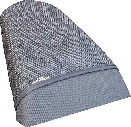 La cubierta de asiento NEGRA Ultra Grippy da la sensación de estar anclada al asiento, para una mayor sensación de seguridad. Reduce fuerza muscular en brazos y piernaspreviniendo