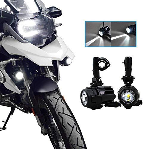 1.Fitment: para la motocicleta BMW R1200GS ADV F800GS F650 LC ADV KTM 1190 1190R 1290, luz auxiliar universal de la motocicleta,Adecuado para todas las motocicletas con un diámetro de parachoques inferior a 26 mm. 2.Energía: 40W.Voltage: DC10-30V.Waterproof: IP67; Temperatura de color: 6000K. Temperatura del trabajo: -45 ℃ --85. Duración de vida: 30000hours.Size: 11.2 * 7 * 7.5cm. 3.SUPAREE le ofrece 12 meses de recambio de servicio postventa. Si tiene alguna pregunta sobre el producto, no dude en ponerse en contacto con nosotros y le responderemos dentro de las 24 horas. 4.Fácil de instalar. Sin embargo, debe tenerse en cuenta que el diámetro del soporte es ajustable y se puede ajustar de 22 mm a 26,5 mm. Por lo tanto, ajuste el soporte según el diámetro del parachoques de su motocicleta durante la instalación. No lo instale de forma violenta, ya que dañará fácilmente el soporte. 5.Hay un par de luces (con soportes de montaje) en el paquete, y no hay otros accesorios en el paquete. Si desea comprar luces y todos los accesorios al mismo tiempo, compre el kit (Asin :B06XJ3MZ4G). Por supuesto, siempre puede comprar cualquiera de los accesorios que necesita en nuestra tienda.