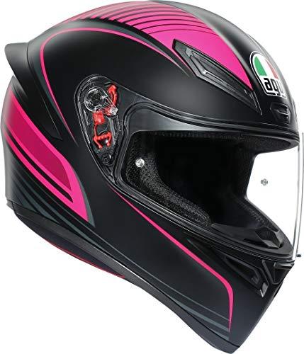 K1 es el nuevo casco deportivo AGV para los retos diarios. Nacido por la tecnología Racing de AGV, apto para cualquier experiencia en carretera. K1: el casco de los ganadores.