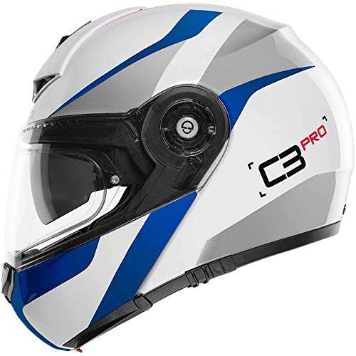 El casco modular para viajar. 100.000 veces más cómodo y probado. Materiales de alta calidad. Funciones fáciles de usar y bien escogidas. Controlado de arriba a abajo para su seguridad. Competencia técnica y experiencia hacen que el C3 PRO sea el milagro funcional que realmente es.